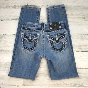 Miss Me jeans skinny size 8